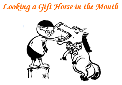 Ian woodwards investing blog gift horse gift horse negle Image collections