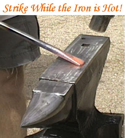 hot anvil